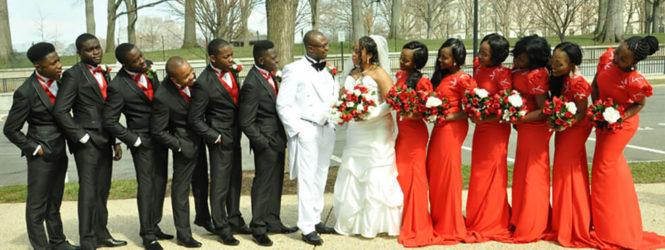 Merline & honore wedding