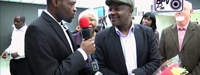 Rev Dr. Justin Njikeu a Washington le 19 Janvier 2015